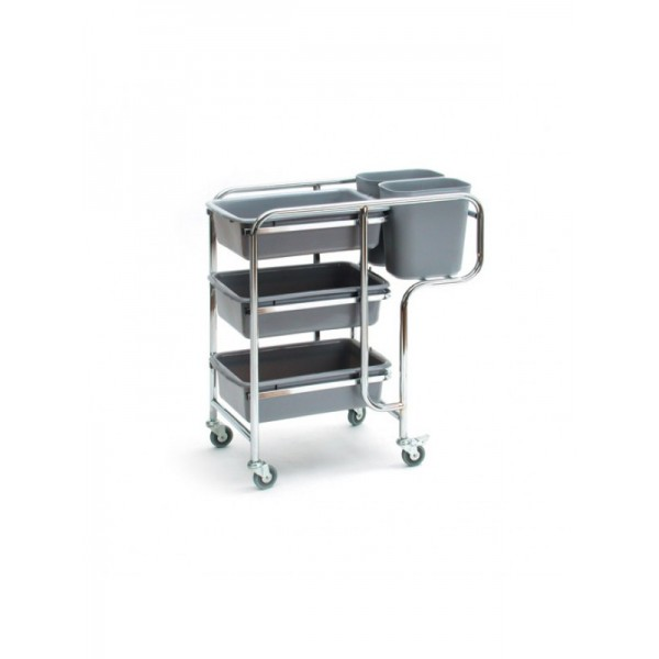 Collectors Cart With Metal Frame
