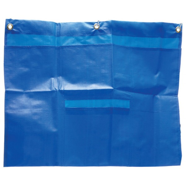 Scissor Trolley Accessory Bag Blue