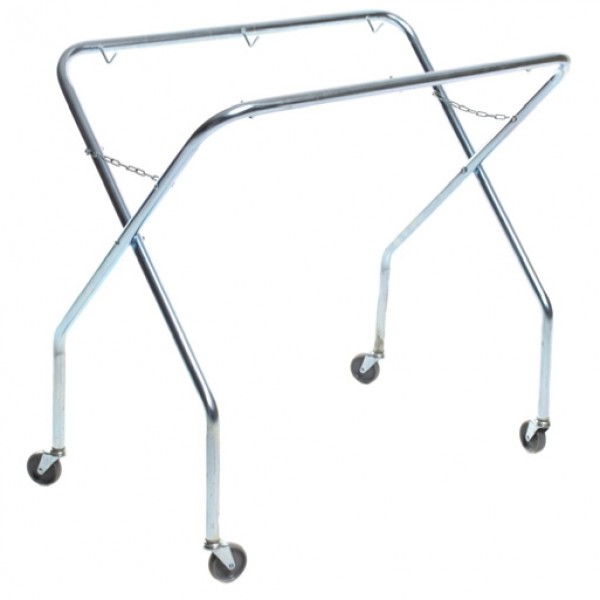 "Scissor Trolley Frame - Metal With 3"" Wheels"