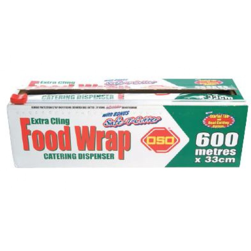 OSO Extra Cling Wrap 33cm x 600M