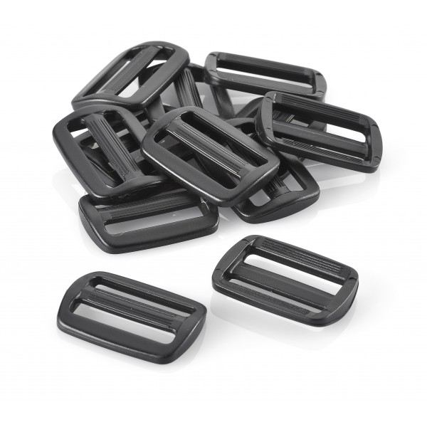 VELCRO® Brand Tri Slide Bar AC201 Black 25mm