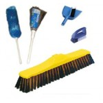 Brooms, Brushes & Pans